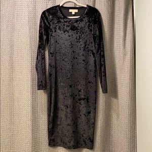 MICHAEL - MICHAEL KORS velvet little black dress